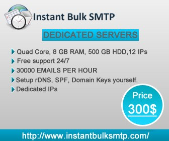 SMTP Server | The best free SMTP Service | Smtp ... - Instant Bulk SMTP